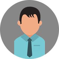 A default profile photo for male
