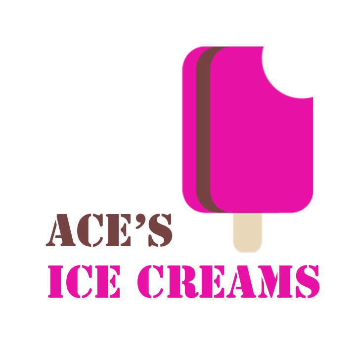 Ace's Ice creams Logo