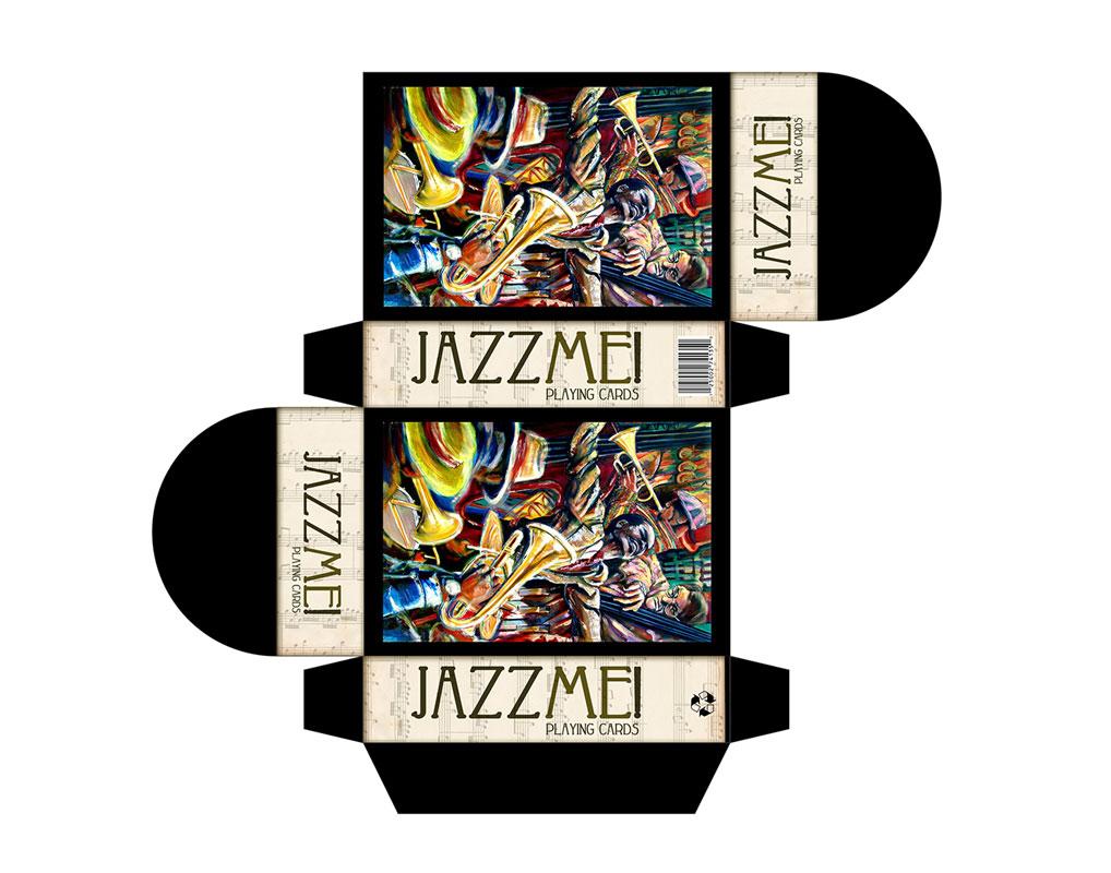 Jazz Me custom cards deck