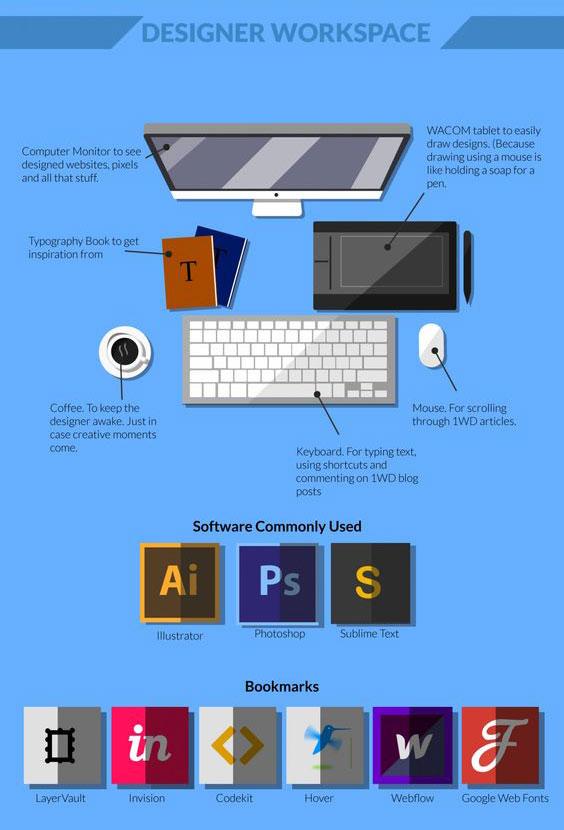 infographic for web designer